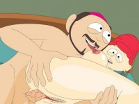 Broflovski couple from South Park busted banging